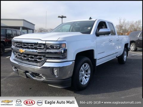 Pre-Owned 2016 Chevrolet Silverado 1500 LTZ 4WD 4D Double Cab